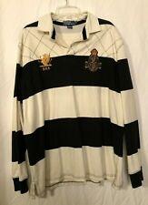 Mens Polo Ralph Lauren 90s Colorblock Rugby Shirt XL
