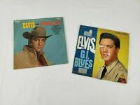 """Elvis Presley RCA Victor LSP 2256 """"G.I. Blues"""" 1963 Living Stereo /Flaming Star"""