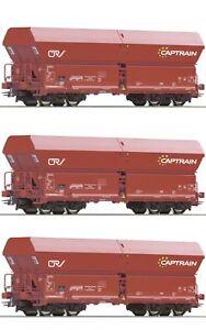 Roco 76187, Selbstentladewagen-Set, OnRail Captrain, limitiert, NEU, OVP