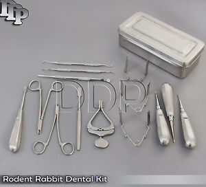 Rodent Rabbit Dental Kit Complete with Box Small Animal Dental Kit, RD-02