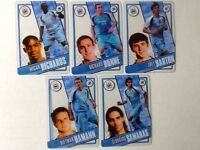 TOPPS PREMIER LEAGUE 2006/07 I-CARDS. FULL SET OF ALL 5 MANCHESTER CITY
