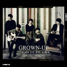 FT ISLAND - [GROWN UP] 4th Mini Album CD + Photo Booklet K-POP Sealed