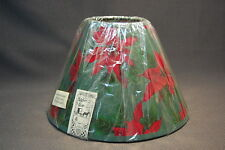 "A Homestead Shoppe Pointesettia 10"" Lampshade"