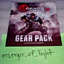 Gears of War 4 Gear Pack with 3 Operation Packs