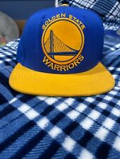Mitchell & Ness NBA Golden State Warriors Team Snapback Cap Hat