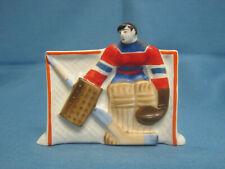 Olympic Champion Tretyak. Goalkeeper. Hockey. Porcelain Figurine. The USSR.
