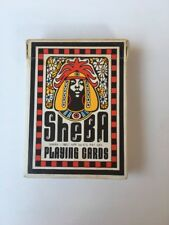 American SHEBA Playing Cards Poker Size 1972 Black African Figure Designs RARE