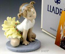 Lladro Figurine Oopsy Daisy Girl Ballerina In Floral Skirt 6691 Retired Mint Box