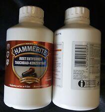 Hammerite Rostentferner Tauchbad Konzentrat  2 x 500 ml