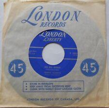 "JOHNNY BURNETTE Big big world / Ballad Of The One Eyed Jacks CANADA 1961 45 7"""