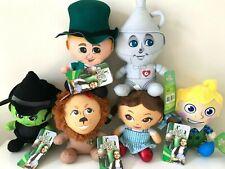Set of 6 Wizard of Oz Plush Toys 7'' . New Rare Set . Dorothy
