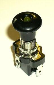12V 10A  Zugschalter -LED ambere -  (ein/aus)