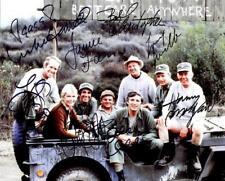 REPRINT - MASH Cast Autographed Signed 8 x 10 Photo Poster RP
