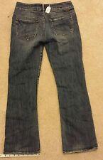 SILVER womens 29/30 JULIA boot cut blue jeans