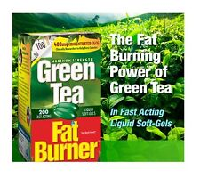 200 Green Tea Fat Burner 400mg EGCG Weight Loss Pills Applied Nutr.200 Softgels