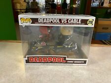 Funko POP! NIP Deluxe Marvel Movie Comic Moments DEADPOOL vs CABLE #318