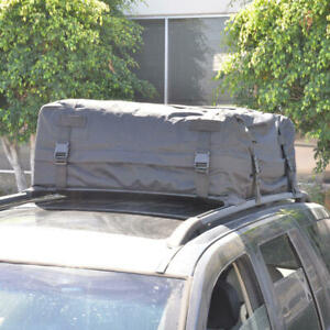 "42 x 42 x 16"" Rooftop Softshell Cargo Bag Cars SUVs Luggage Travel Motor Trend"