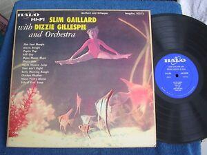 Slam Stewart with Dizzy Gillespie-Charlie Parker/Cheesecake/Halo 50273/VG to VG+