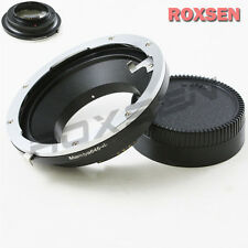 AF confirm Mamiya 645 645AF Lens to Nikon F mount Adapter D4 D90 D600 D800 D5200