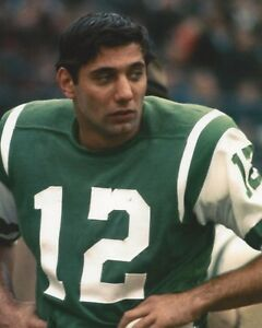 JOE NAMATH 8X10 PHOTO NEW YORK JETS NY COLTS PICTURE NFL FOOTBALL HANDS ON HIPS