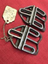 NOS alte Schuhplatten für Rennradschuh, Brevetta Italy, 40-50er Jahre