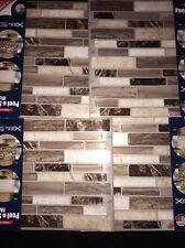 Peel And Stick Mosaics. Backsplash. Total 16 Sheets. Verona Beige. # 815844