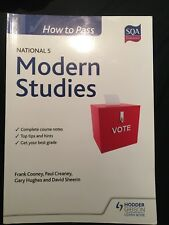 How to Pass National 5 Modern Studies by Frank Cooney, Paul Creaney (Paperback,