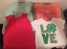 Girl Shirts 3yr, 3t & 2t t-shirts/skirt/pants lot of 7 Very nice!