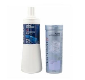 Wella Blondor Lightening Powder (400g) and 12% Developer