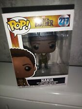 Pop Funko Figurine Marvel Black Panther nakia 277 Film NEUF RARE