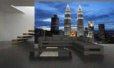 Twin Towers, Petronas Wall Mural Photo Wallpaper GIANT WALL DECOR PAPER POSTER