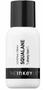THE INKEY LIST Squalane Oil 1oz / 30ml NIB Hydration and Protection