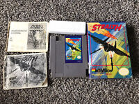 Stealth ATF Nintendo NES Authentic Game W/ Box Game Custom Manual Tested WORKS