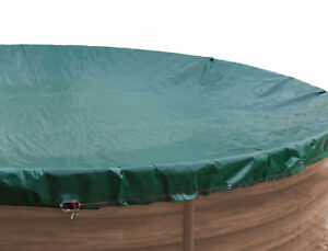 Abdeckplane für Pool rund 400cm  Planenmaß 460cm Sommer Winter NEU & OVP