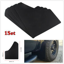 1Set Black Plastic Mud Flaps Splash Guard Mudguards Fender Accessories For Car