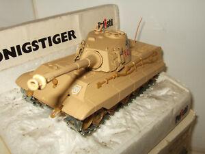 Rare Vintage Polistil CA103 Tiger 11,KonigsTiger  (King Tiger) with Poor Box.