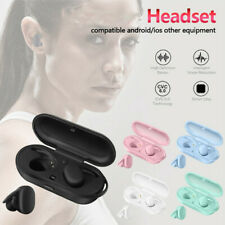 Smart 5.0 Wireless Headset Earphones Pure Color Earbuds For Android/IOS