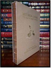 Mother Goose Old Nursery Rhymes Sealed Easton Press Deluxe Limited Leather 1/600