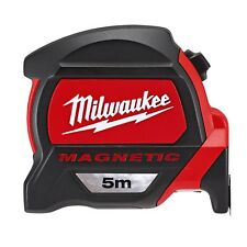 Milwaukee 48227305 5m Tape Measure with Magnetic Hook and Architect Scale GEN2
