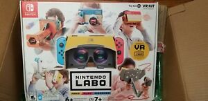 Nintendo Switch Labo Toy-Con 04: Full VR Kit with Blaster US Version - New, WOW!