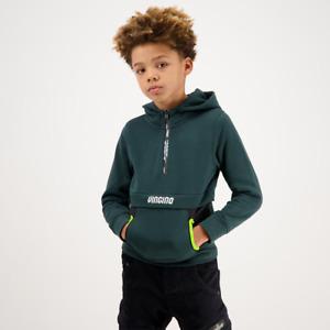 VINGINO Jungen Pullover Sweatshirt Hoodie Kapuze  NAIR steel green Gr.128-176