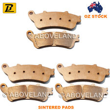 Front Rear Sintered Brake Pads Honda VFR 800 a ABS Model 2002-2003 2004 2005