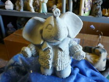 Knitwit Elephant  Ready to paint