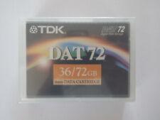 TDK DAT72 / DAT 72 Data Tape/Cartridge 36/72GB DC4-170S 4mm NEW