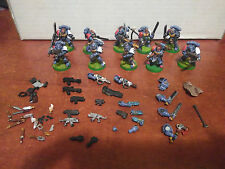 Warhammer 40k: Lobos espaciales tropa imantados / Space wolves troop magnetized