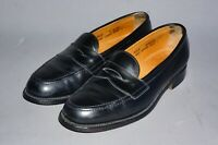 DUCKER & SON LTD Oxford All Leather Hand crafted Penny loafer Shoes uk 7 Black