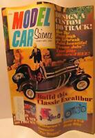 Model Car Science Magazine, February 1969, 1/32 Home Set Car Mods, HO Tracks