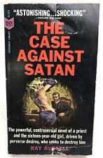 THE CASE AGAINST SATAN Ray Russell PAPERBACK 52-210 Drama 1ST PRINTING gga