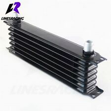 Universal 7 Row 10AN Aluminum Engine Transmission 262mm Oil Cooler For Acura