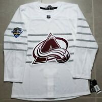 Colorado Avalanche White 2020 NHL All Star Authentic Adidas Pro Hockey Jersey